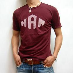 ハリウッドランチマーケット ダイヤHRMスーピマS/STシャツ