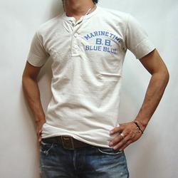 BLUE BLUE マリンヘンリーTシャツ