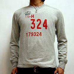 ハリウッドランチマーケット クラウン324パイルLSTシャツ