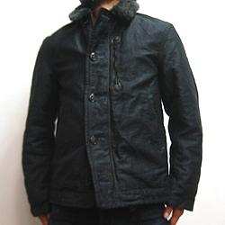 BLUE BLUE(ブルーブルー)ジャーマンクロス デッキジャケット