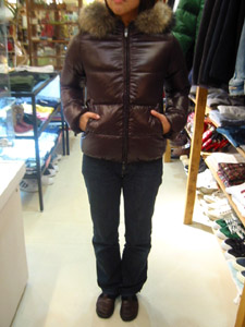 DUVETICA fallwinter2007/08 women collection DOWN JAKET D03004 adhara  前から