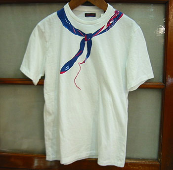 BLUE BLUE DENIMバンダナ半袖Tシャツ