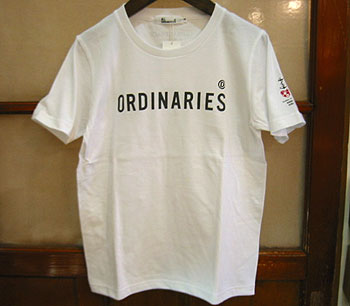 ALL ORDINARIES A/Oロゴ半袖Tシャツ