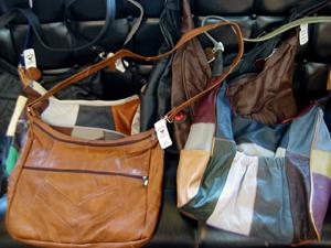 ハリウッドランチマーケット リサイクルレザーバッグ