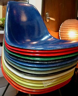 イームズ(Eames) サイドシェルチェア