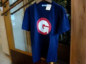 ハリウッドランチマーケット サークルGインディゴ S/S Tシャツ