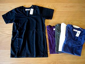 ハリウッドランチマーケット GSY Uネック S/S Tシャツ
