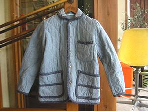 ハリウッドランチマーケット リサイクルカラーキルトトリム CAジャケット