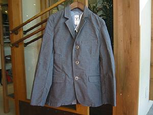 ハリウッドランチマーケット ジャーマンクロスストレッチ3Bジャケット