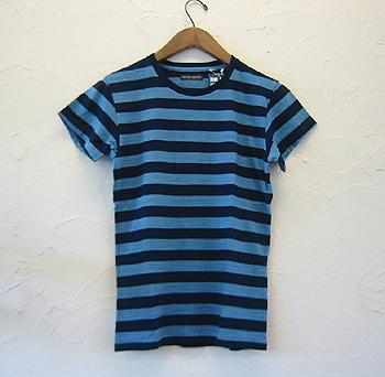 BB インディゴ ボーダー 半袖Tシャツ.jpg