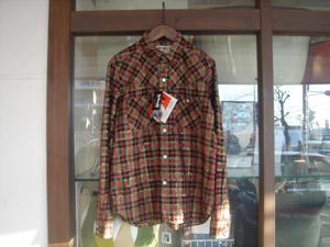 HRM×SCHOTT  LUREX  ウェスタンシャツ