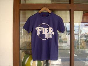 ハリウッドランチマーケット  PIER BLUE SSTシャツ