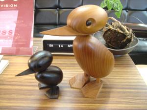 Mid-Century MODERN : (ビッグ バード) Big Bird & (ウッドバード ブラック) Wood Bird Black