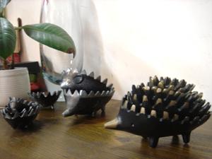 Walter Bosse : (ウォルター・ボッセ ハリネズミ灰皿) Hedgehog Brass Ashtray