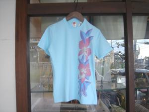 HOLLYWOOD RANCH MARKET アロハフラワー LADYS SS Tシャツ