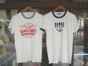 HRM SANLIGHT/BアンカーB トリミング  Tシャツ