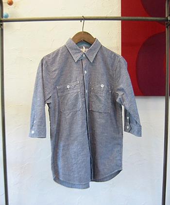 GM CLダンガリー WORKシャツ 7分袖.jpg