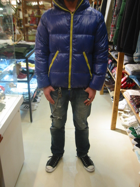 DUVETICA fallwinter2007/08 men collection DOWN JAKET U25502 dionisio 前から