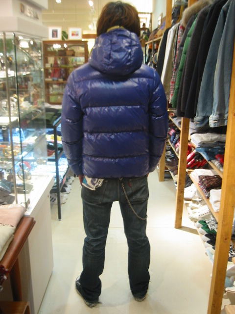 DUVETICA fallwinter2007/08 men collection DOWN JAKET U25502 dionisio  後ろ