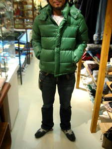 DUVETICA fallwinter2007/08 men collection DOWN JAKET U01400 deimos  前から