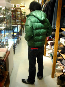 DUVETICA fallwinter2007/08 men collection DOWN JAKET U01400 deimos  後から